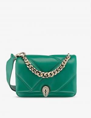 Exclusive Cabachon Bag Green Small