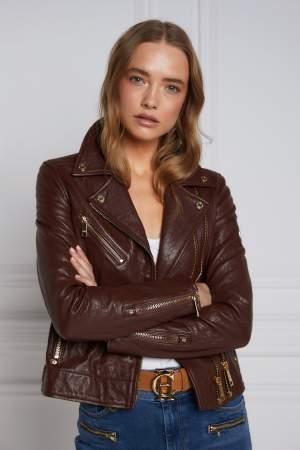 Chocolate Biker Jacket