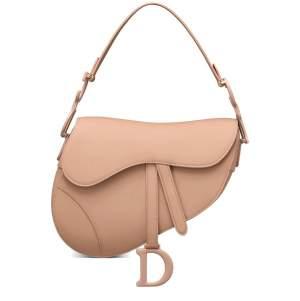 Matte Saddle Bag Blush Pink