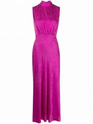 Sleeveless Midi Dress Pink